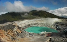 Parc National du Volcan Poas - La Fortuna - Sources thermales